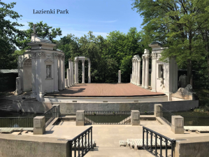 Lazienki Park